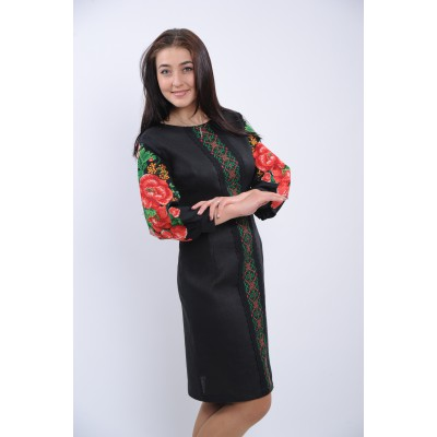 "Embroidered dress ""Classic Ukrainian Beauty"""