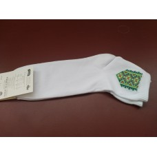 Socks with design of Ukrainian Embroidery 1