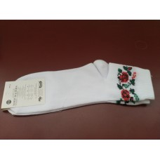 Socks with design of Ukrainian Embroidery 2