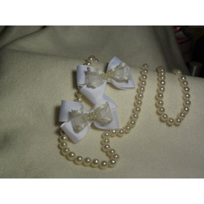 "Hairclip (pair) ""Bows"""