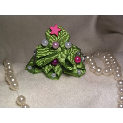 "Hair Crown ""Christmas Tree"""