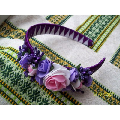 "Hair band ""Roses Rich"""