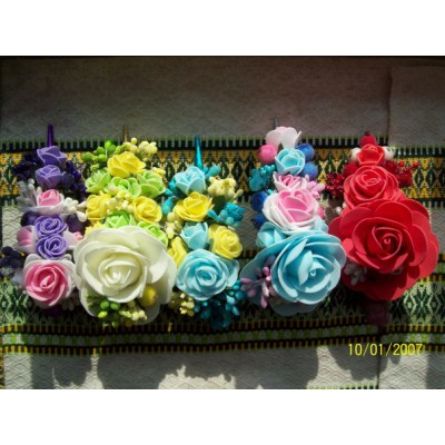 "Hairclip ""Perfect Roses"""