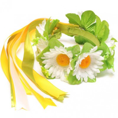 "Ukrainian Wreath ""Pure Chamomiles"""