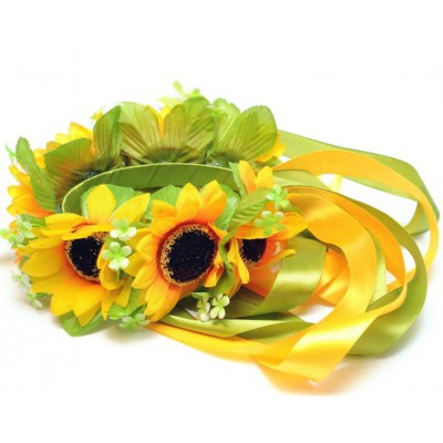 "Ukrainian Wreath ""Sunflowers"""