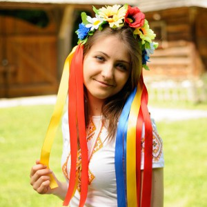 "Ukrainian Wreath ""Wild Flowers Classic"""