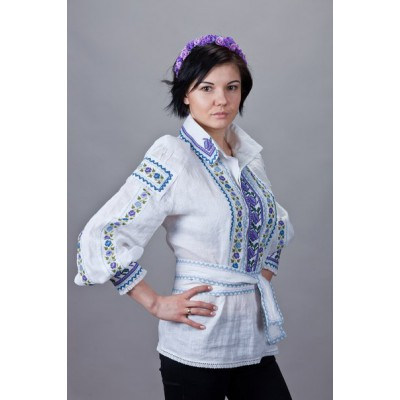 "Embroidered  blouse ""Modern Roxolana"""