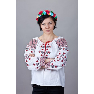 "Embroidered  blouse ""Ukrainian Crown"""