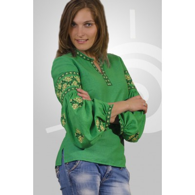 "Boho Style Ukrainian Embroidered Folk  Blouse ""Sun"" 8"
