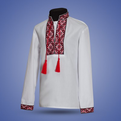 "Embroidered shirt for boy ""Oriental Ornaments"""