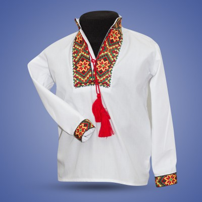 "Embroidered shirt for boy ""Gerdan"""