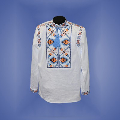 "Embroidered shirt for boy ""Fantastic Flower"" 1"