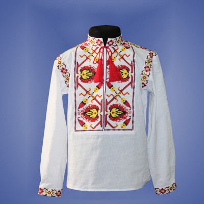 "Embroidered shirt for boy ""Fantastic Flower"" 3"