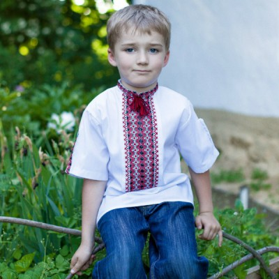 "Embroidered shirt for little boy ""Ihor"""