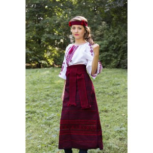 Traditional Costume for Ladies (Blouse + Plakhta + Krayka + Chiltse)