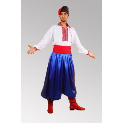 Ukrainian traditional folk dance costume for men
