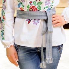 Traditional Belt (Krayka) Gray for children