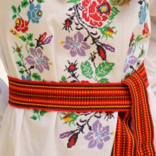 Traditional Belt (Krayka) Orange for children