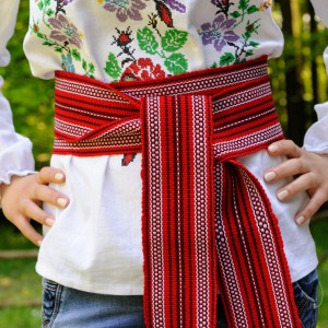 Traditional Belt (Krayka) Maxi Red