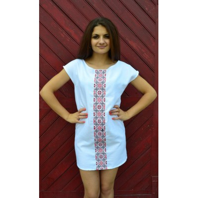 "Embroidered dress ""Hot Summer"""