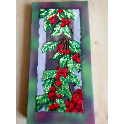 EXCLUSIVE! Beads Embroidered Picture 30*15cm