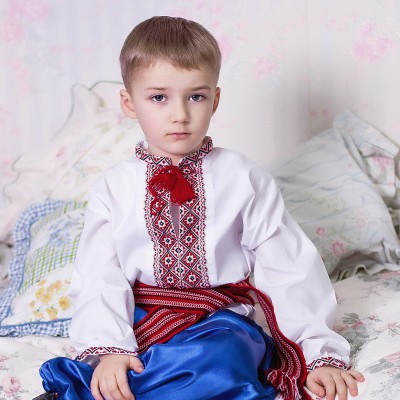 "Embroidered shirt for little boy ""Andriy"""