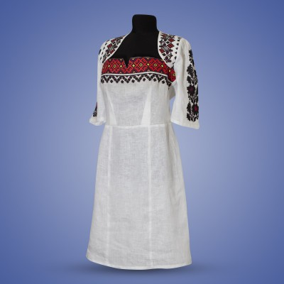 "Embroidered dress ""Borshchiv Traditions"""