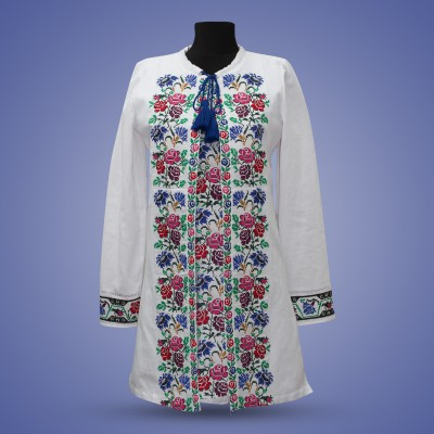 "Embroidered costume ""Cornflowers"""