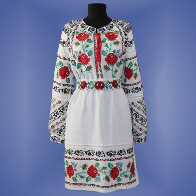 "Embroidered dress ""Magic"""