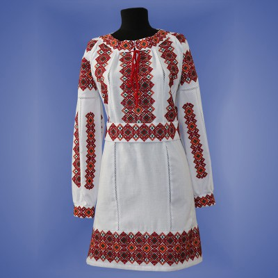 "Embroidered dress ""Odarka"""