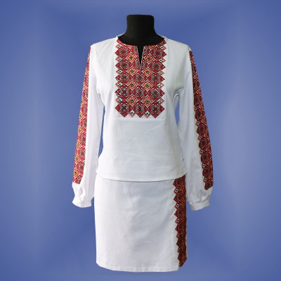 "Embroidered costume ""Odarka"""