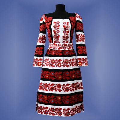 "Embroidered dress ""Borshchiv Rich"""