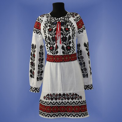 "Embroidered dress ""Borshivka New"""