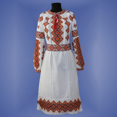 "Embroidered dress ""Galychanka"""