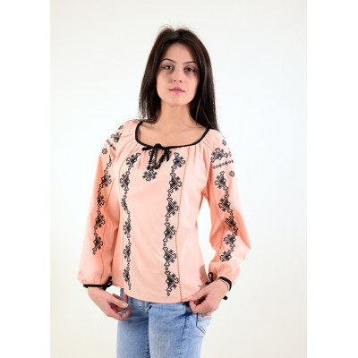 "SALE!! Embroidered blouse ""Xenia"" 9 Size XL2"