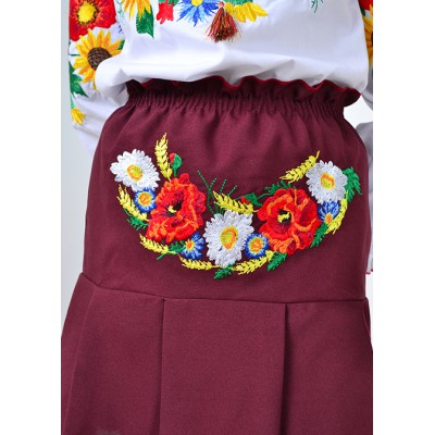 "Embroidered skirt for little girl ""Panna: Summer"""