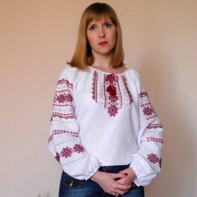 "Embroidered blouse ""Martha"""