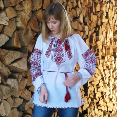 "Embroidered blouse ""Lyudmila"""