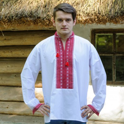 """Embroidered shirt """"Cossac"""""""