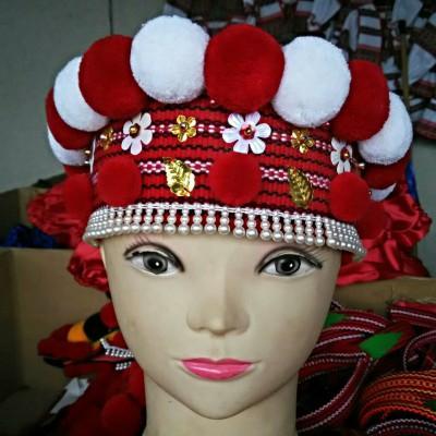 "Ukrainian Chiltse ""Gutsulochka Red&White"""