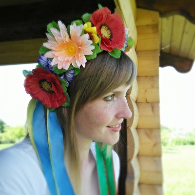 "Ukrainian Wreath ""Wild Flowers Crown"""