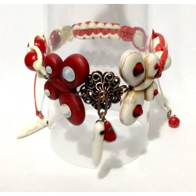 "Bracelet ""Poppies Vintage"""