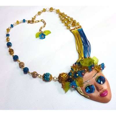 "Necklace ""Blond Girl"""