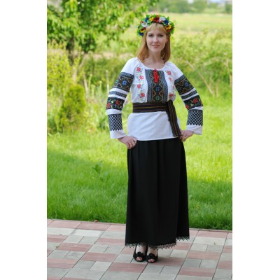 Look 9 (Blouse + Skirt + Krayka + Wreath)