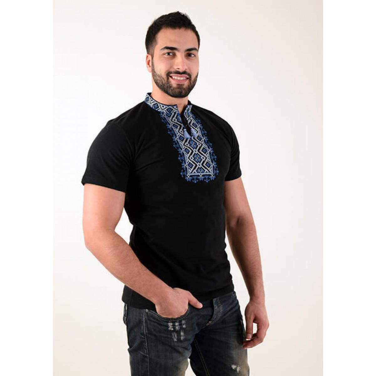 7ec12f8e6fe ... Embroidered t-shirt for men