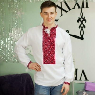 "Embroidered shirt ""Treasure of Slavs"""