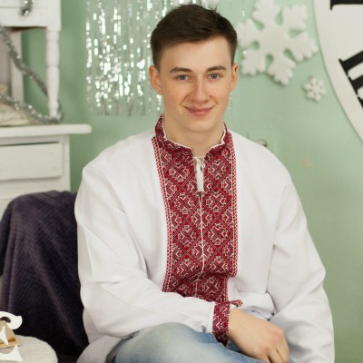 "Embroidered shirt ""Svarog"""