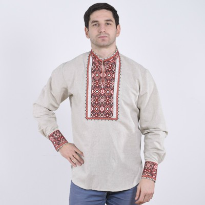 """Embroidered shirt """"Hetmans 6"""""""