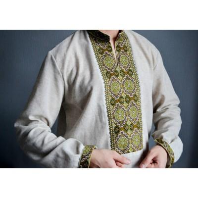 "Embroidered shirt ""Autumn"""