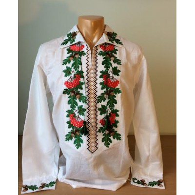 "SALE!! Embroidered shirt ""Olvia Oak&Kalyna"" Size 42 by neck"
